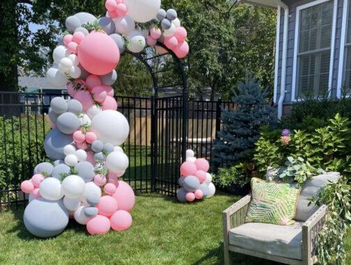 balloon garlands houston