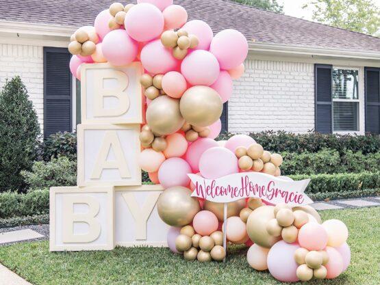 baby shower balloon decorations Houston