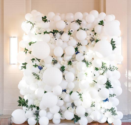 wedding balloon decor Houston