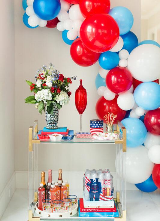 balloon birthday garlands Houston
