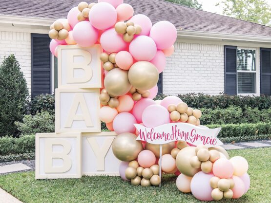 baby shower balloon decorations Houston
