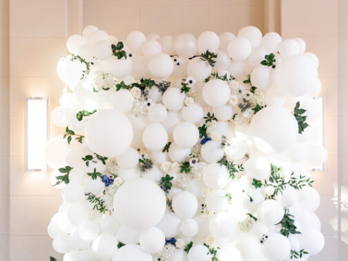 wedding balloon decor Houston