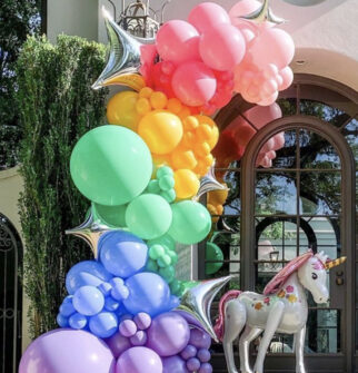 balloon garlands houston